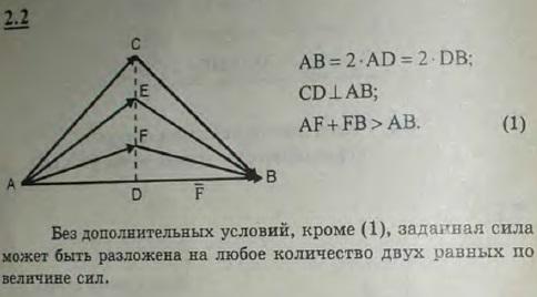 Силу в 8 Н разложить на две по 5 Н каждая. Можно ли ту же силу разложить на две по..., Задача 2605, Теоретическая механика