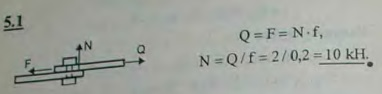 Определить необходимую затяжку болта, скрепляющего две стальные полосы, разрываемые силой P=2 кН. Болт поставлен с зазором и не должен работа..., Задача 2771, Теоретическая механика