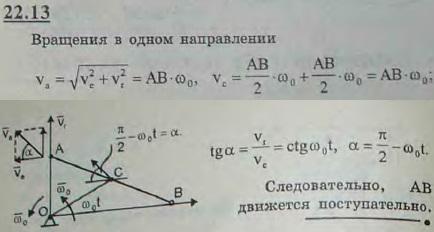 Решить предыдущую задачу для случая, когда оба вращения п..., Задача 3199, Теоретическая механика