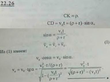 Стержень скользит в вертикальных направляющих, опираясь нижним концом с помощью ролика на поверхност..., Задача 3212, Теоретическая механика