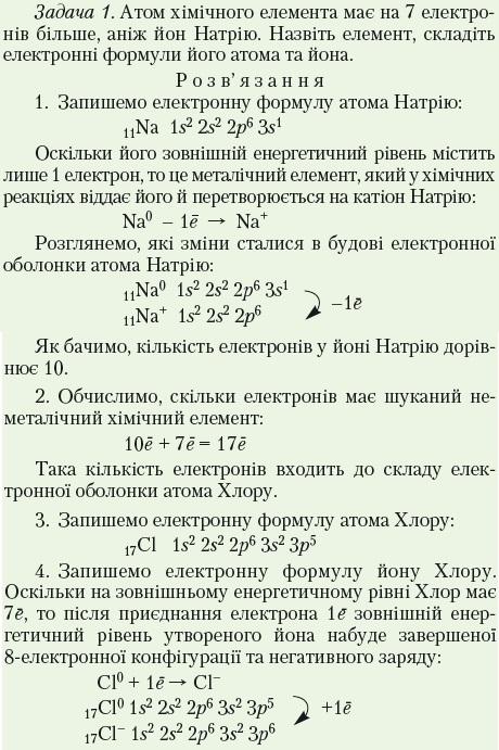 Атом хімічного елемента має на 7 електронів більше, аніж йон Натрію. Назвіть елемент, ск..., Задача 7702, Химия